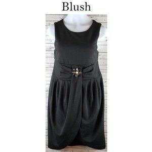 Black Dress by Blush Size 14